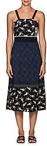 Warm Women's Floral & Geometric Midi-Dress