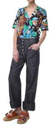 Kenzo Carpenter Cotton-denim Jeans