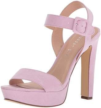Madden-Girl Women's Rolloo Heeled Sandal