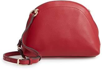 Vince Camuto Katja Leather Half-Moon Crossbody Bag