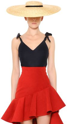 Cool Wool Top W/ Bow Shoulders $432 thestylecure.com
