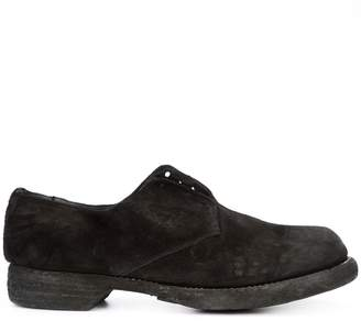 Guidi chunky derby shoes