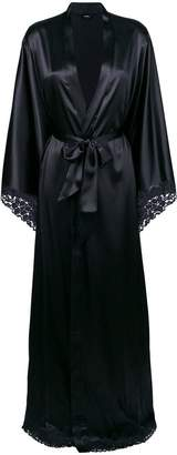 La Perla satin floor-length robe