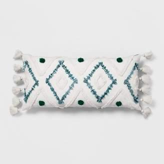 Opalhouse Diamond Tufted Lumbar Pillow