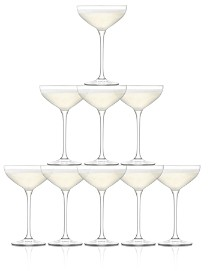 Tower Champagne Coupe, Set of 10