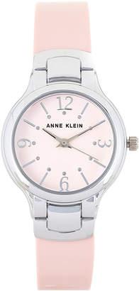 Anne Klein AK/2697 Silver-Tone & Pink Watch