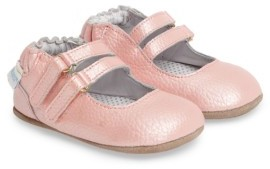 Infant Girl's Robeez Rose Mary Jane Crib Shoe $35.95 thestylecure.com