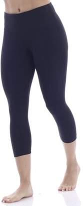 Bally Total Fitness Women's Core Active Butt Booster Performance Capri Legging