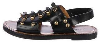 Christian Dior Leather Slingback Sandals