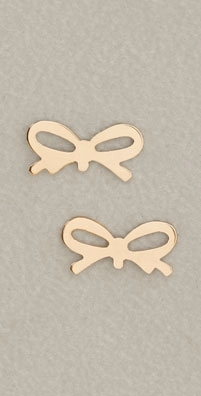 ginette_ny Bow Studs