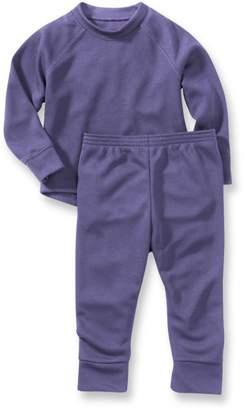 L.L. Bean L.L.Bean Wicked Warm Midweight Underwear Set, Toddlers'