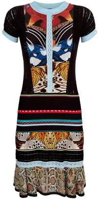Roberto Cavalli Crochet Butterfly Dress
