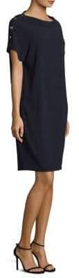 Escada Boatneck Tunic Dress