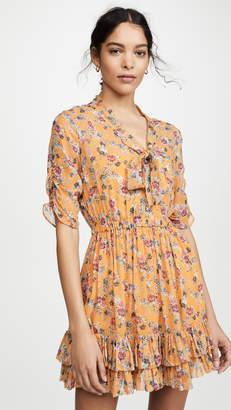 Nicholas Ruffle Mini Dress