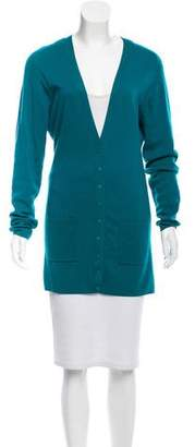 Balenciaga Cashmere Longline Cardigan
