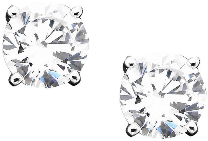 Giani Bernini Sterling Silver Cubic Zirconia Stud Earrings (1 ct. t.w.)