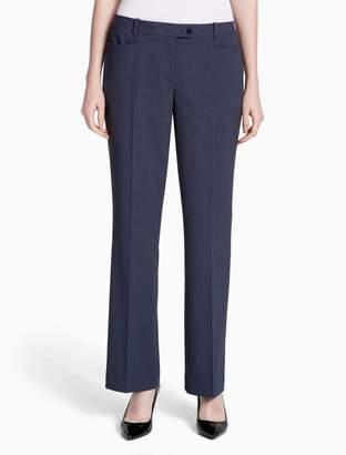 Calvin Klein straight modern plaid pants