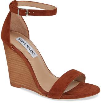 5f6ffd1396e Steve Madden Brown Strap Women s Sandals - ShopStyle
