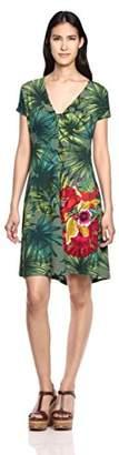 Desigual Women's Maroni Knitted Short Sleeve Dress