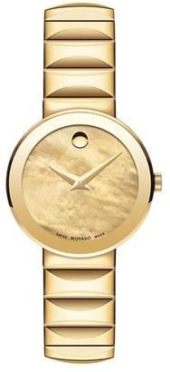 Women's Movado 'Sapphire' Bracelet Watch, 26Mm $995 thestylecure.com