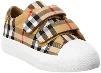 Burberry Vintage Check Leather Sneaker