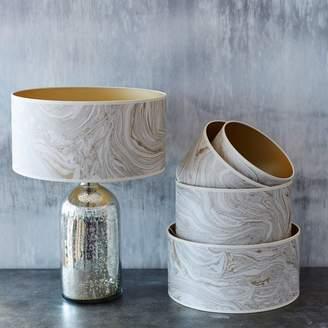 Graham and Green Makrana Gold Lamp Shades