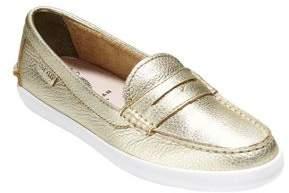 Cole Haan Pinch Weekender Metallic Leather Loafers
