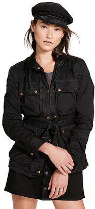 Ralph Lauren Denim & Supply Waxed Cotton Moto Jacket $198 thestylecure.com