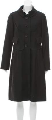 Christian Lacroix Twill Wool Coat