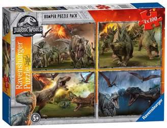Ravensburger Jurassic World - 'Jurassic World' Fallen Kingdom Set Of 4 Bumper Pack Jigsaw Puzzle