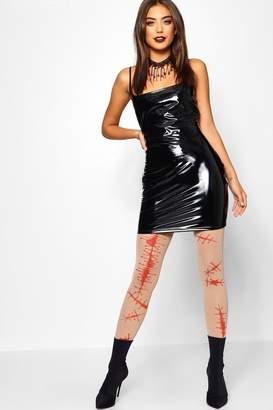 boohoo Halloween Blood Tights