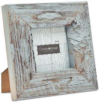 "Godinger Philip Whitney Philip Whitney 4"" x 4"" Gray Barn Square Picture Frame"