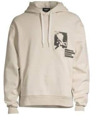The Kooples Graphic Patch Hoodie