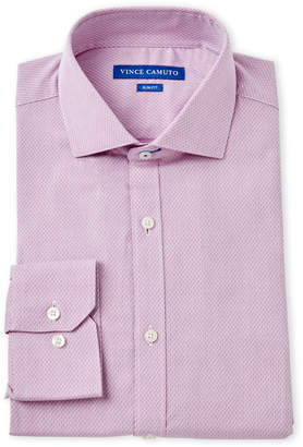 Vince Camuto Rose Mini Dobby Slim Fit Dress Shirt