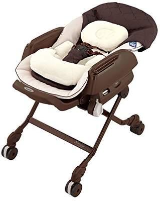 Combi (コンビ) - コンビ ベビーラック ネムリラ AUTO SWING BEDi Plus ショコラブラウン 新生児~4才頃対象 エアファイバー搭載モデル