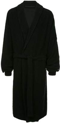 Julius belted long cardigan