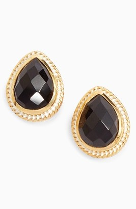 Women's Anna Beck Black Onyx Stud Earrings $150 thestylecure.com