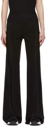 Rick Owens Black Silk Bias Trousers