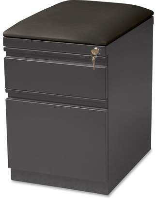 Lorell 2 Drawers Vertical Steel Lockable Filing Cabinet, Gray