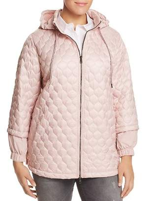 Marina Rinaldi Pacos Quilted Detachable Hood Jacket