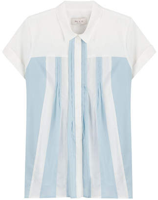 Paul & Joe Cotton Blouse with Pleats
