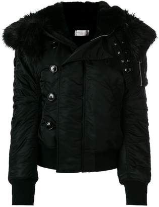 Faith Connexion faux fur hooded jacket