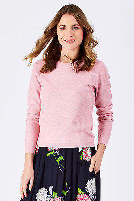Emily And Fin NEW Womens Jumpers Cassie Sweater RosePink