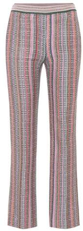 Missoni Metallic cropped trousers