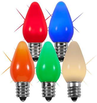 Wintergreen Lighting Twinkle Smooth LED Christmas Light Bulb