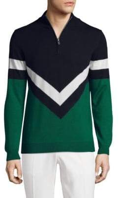 J. Lindeberg Golf Marten True Wool Sweater