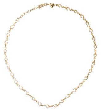 Alison Lou Yellow Gold Question Mark Choker - Womens - Yellow Gold