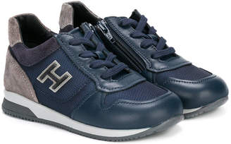 Hogan logo lace-up snearkers