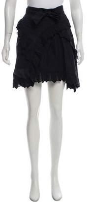 Etoile Isabel Marant Ruffled Wrap Skirt