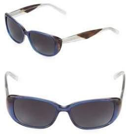 Vera Wang 53MM Butterfly Sunglasses
